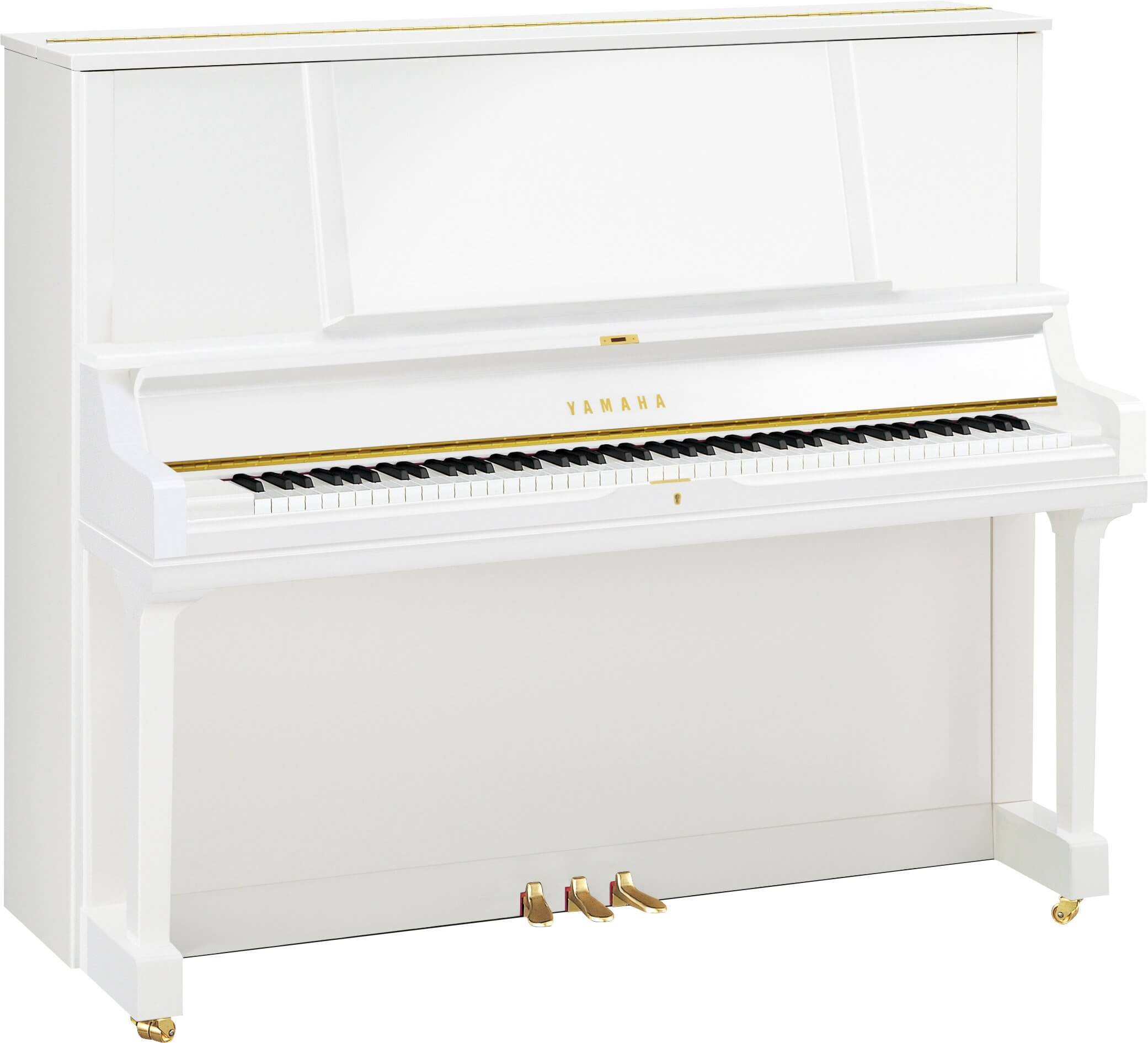 Piano vertical transacoustic Yamaha YUS5 TA2 Blanco